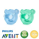 Philips Avent Soothie, rund, Silikon Gr.2